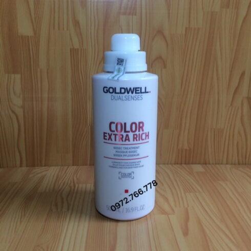 Dầu hấp Goldwell dưỡng màu tóc nhuộm