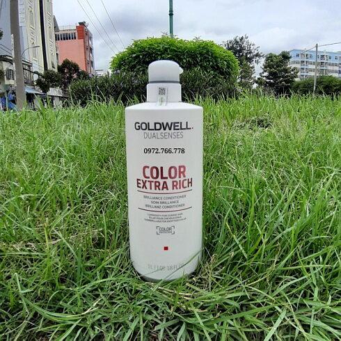 Dầu xả Goldwell dưỡng màu tóc nhuộm