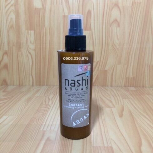 Xịt xả khô Nashi dưỡng tóc