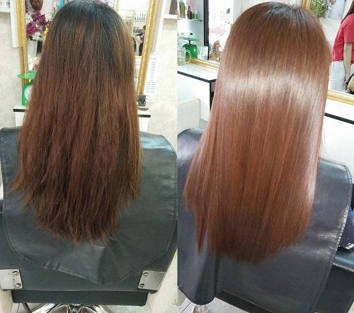 Phục hồi tóc khô sơ hư tổn