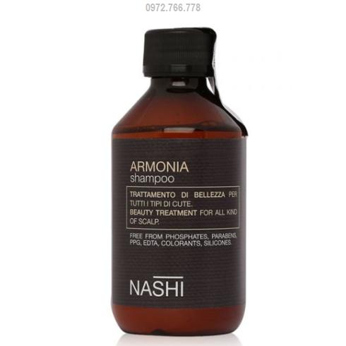 dầu gội nashi dành cho tóc gàu dầu gàu