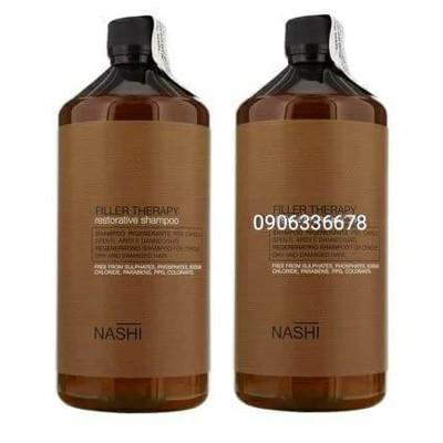 Dầu gội xả dành cho tóc khô sơ nashi