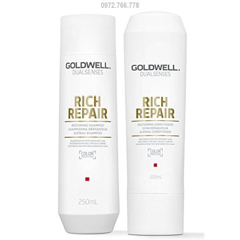 dầu gội xả phục hồi goldwell rich repair