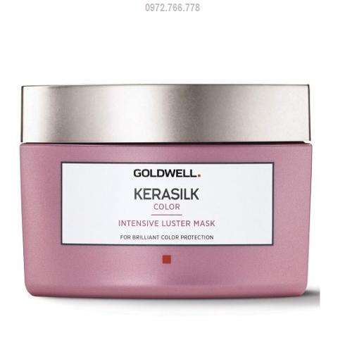 hấp dầu dưỡng màu goldwell kerasilk