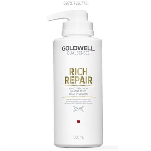 Hấp dầu phục hồi goldwell rich repair