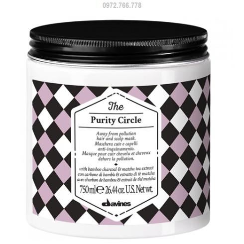 Hấp dầu thải độc davines purity circle