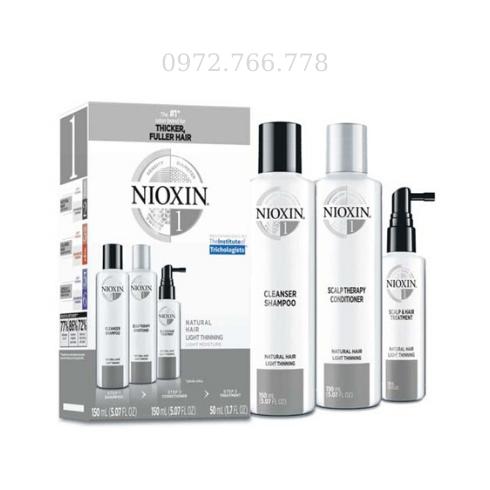 Bộ chống rụng Nioxin số 1