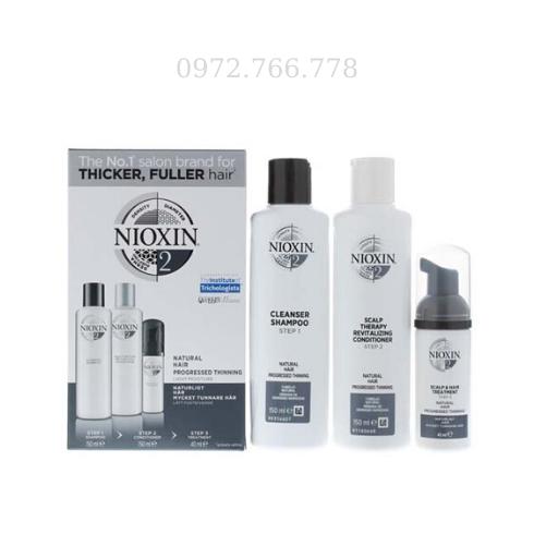 Bộ chống rụng tóc Nioxin số 2