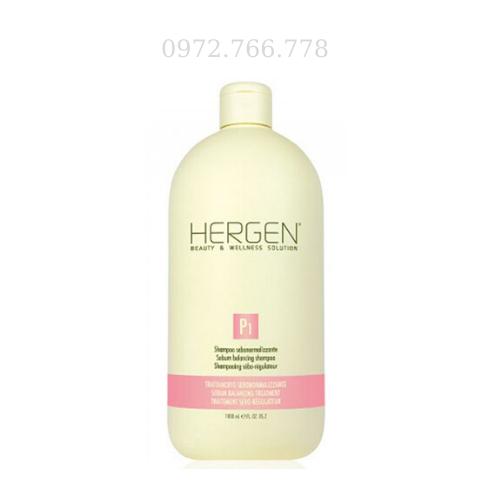 Dầu gội bes hergen trị tóc dầu