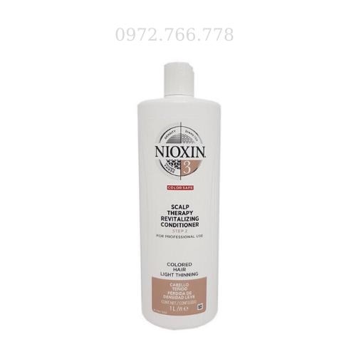 Dầu xả Nioxin chống rụng tóc