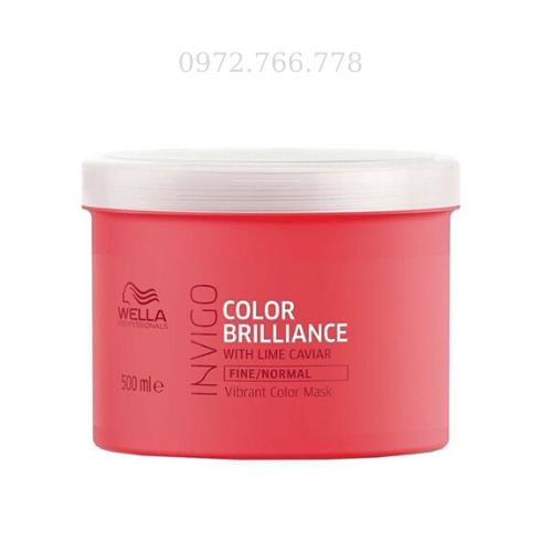 Hấp dầu Wella dưỡng màu tóc nhuộm