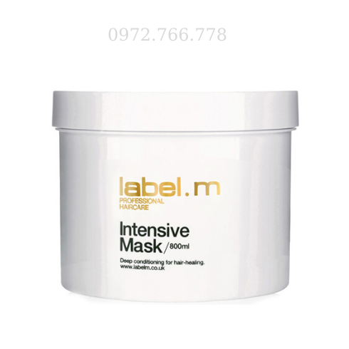 Hấp dầu phục hồi tóc Label.m