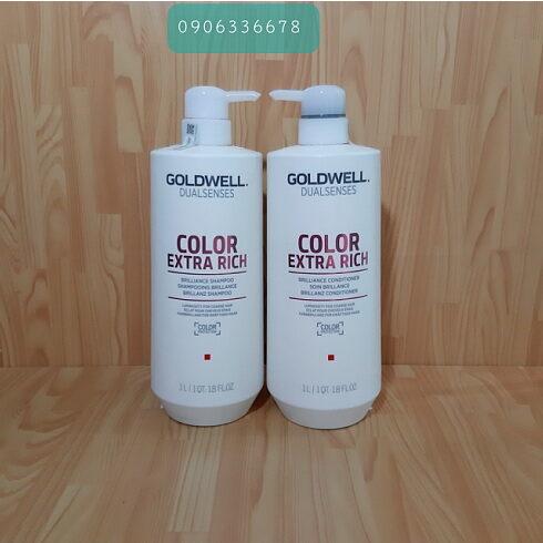 Dầu gội xả Goldwell dưỡng màu tóc nhuộm
