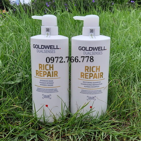 Gội hấp Goldwell rich repair