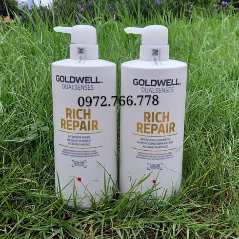 Gội hấp Goldwell rich repair